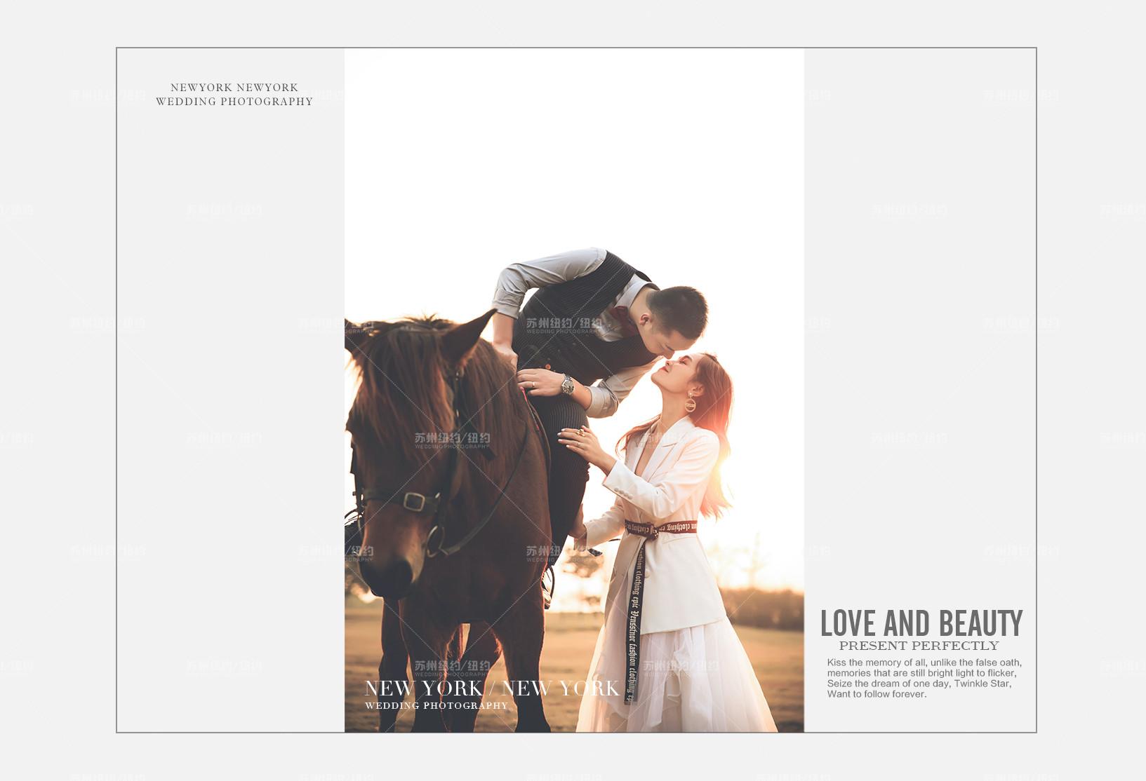 Mr.罗 & Ms.周(纽约纽约最新客照)婚纱摄影照