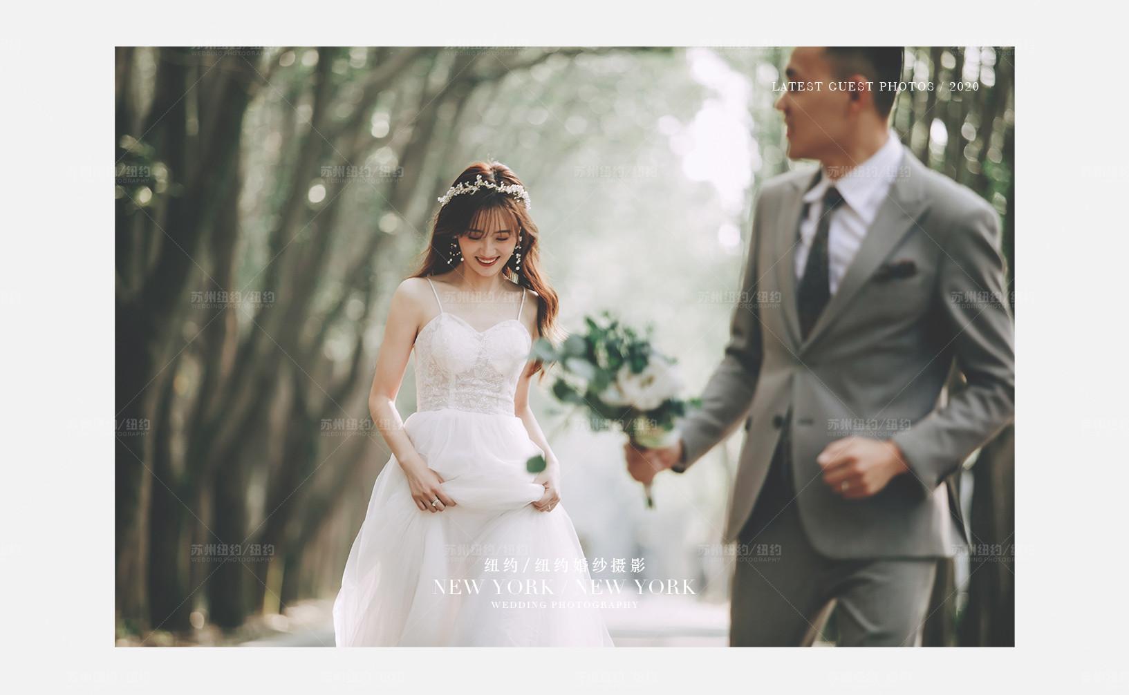 Mr.蒋 & Ms.温(纽约纽约最新客照)婚纱摄影照