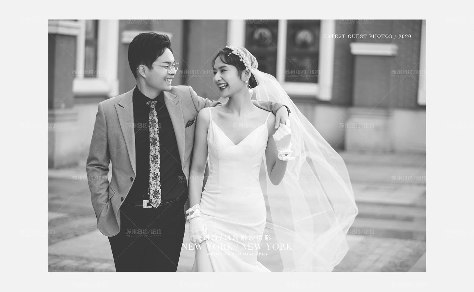 Mr.钱 & Ms.张(纽约纽约最新客照)婚纱摄影照