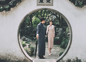 Mr.胡 & Ms.刘(纽约纽约最新客照)婚纱摄影照