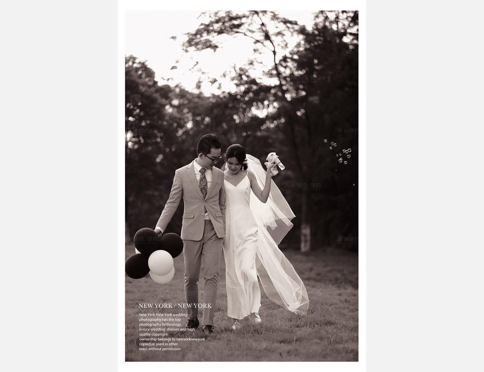 Mr.柳 & Ms.乐(纽约纽约最新客照)婚纱摄影照