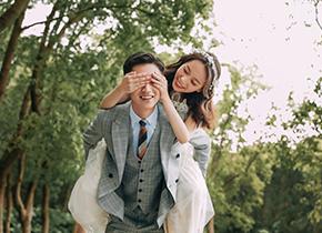 Mr.王 & Ms.臧(纽约纽约最新客照)婚纱摄影照