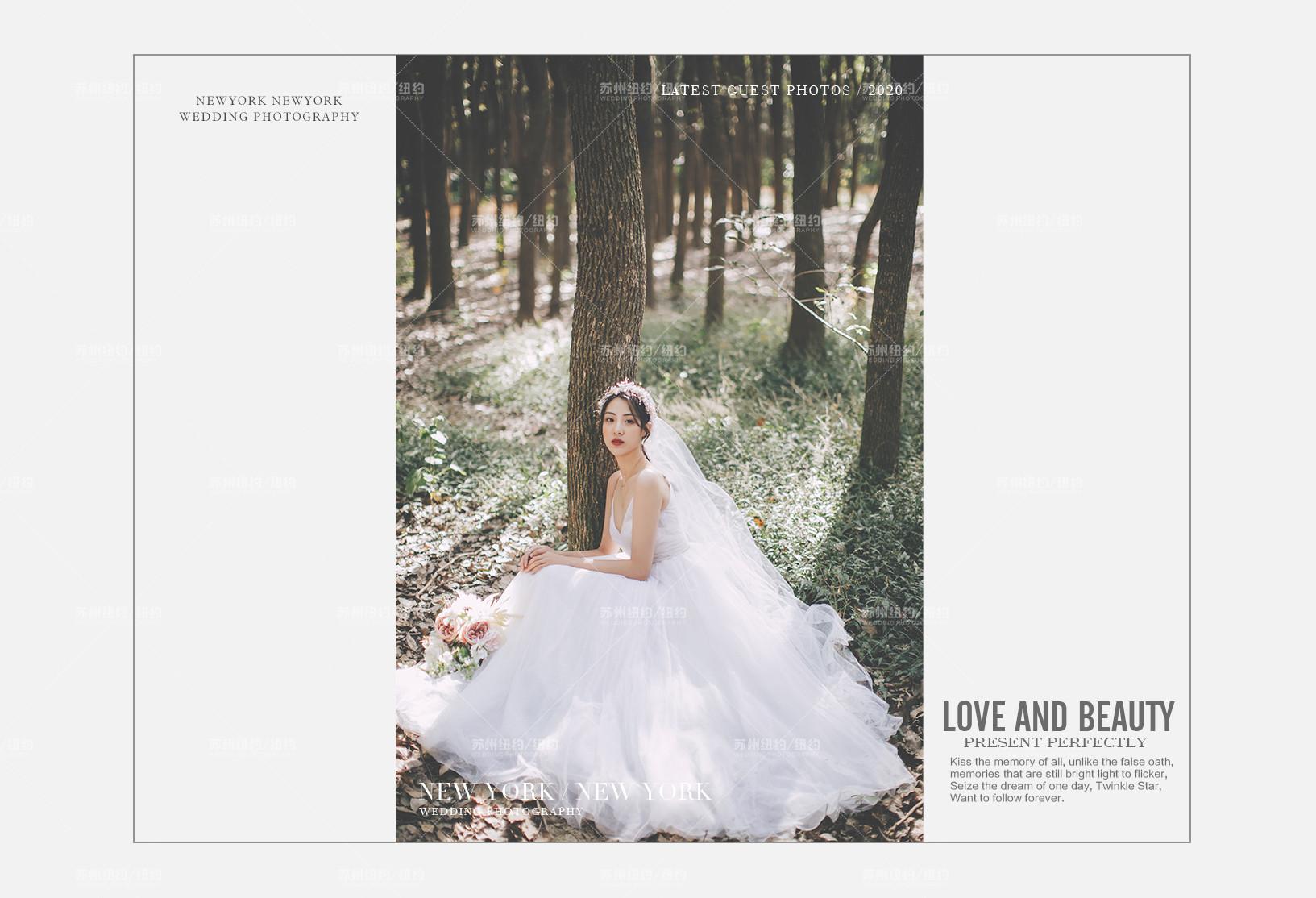 Mr.滕 & Ms.沈(纽约纽约最新客照)婚纱摄影照