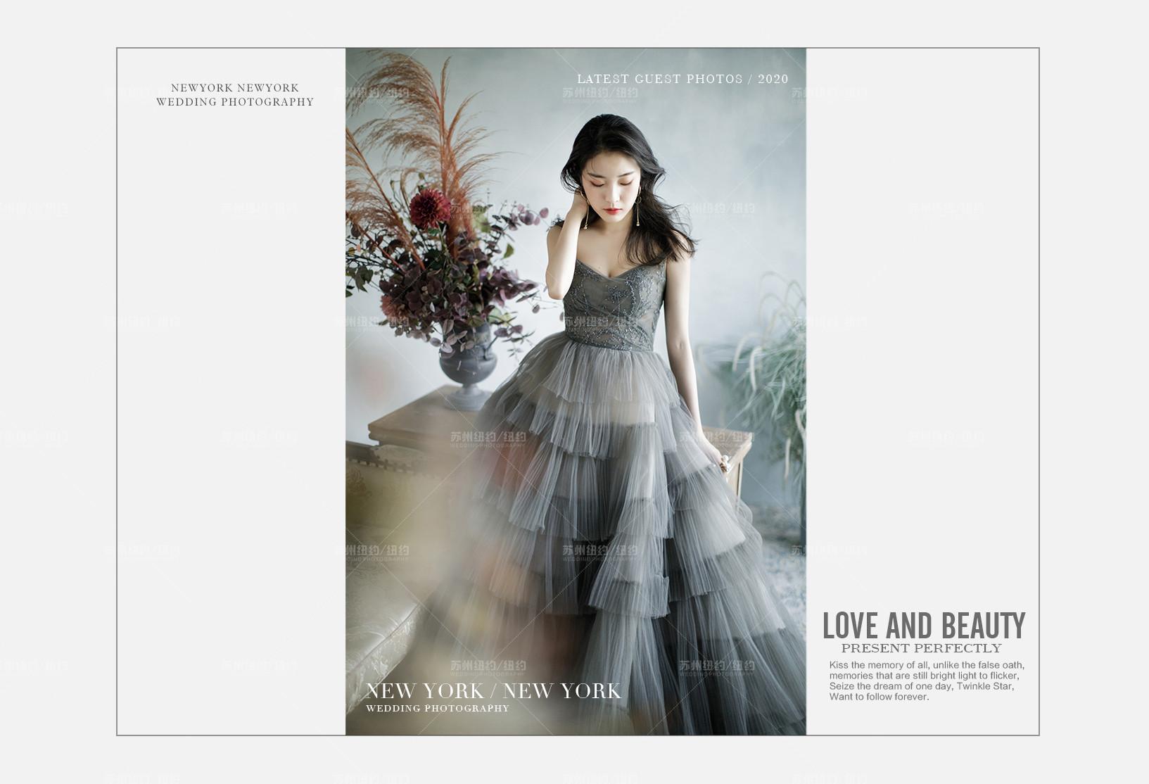 Mr.金 & Ms.满(纽约纽约最新客照)婚纱摄影照