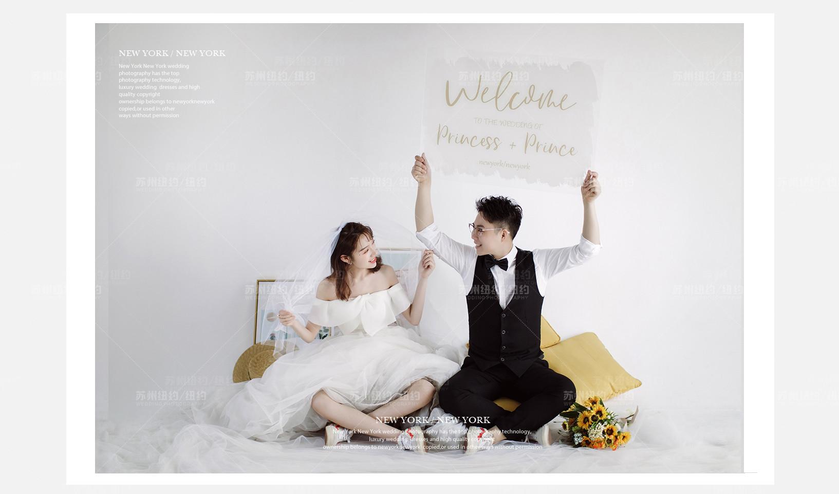 Mr.赵 & Ms.姚(纽约纽约最新客照)婚纱摄影照