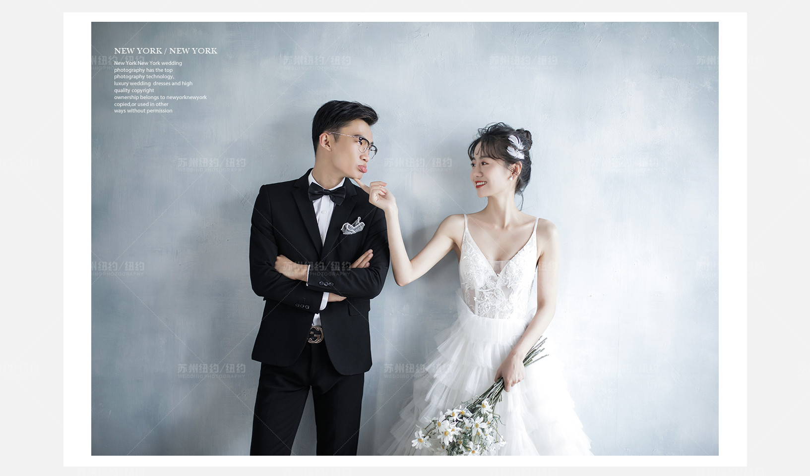 Mr.冯 & Ms.周(纽约纽约最新客照)婚纱摄影照