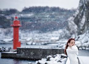 小樽-小樽渔港婚纱摄影照