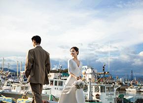 富士山 田子&浦港婚纱摄影照