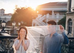 Mr.华 & Ms.吕(纽约纽约最新客照)婚纱摄影照