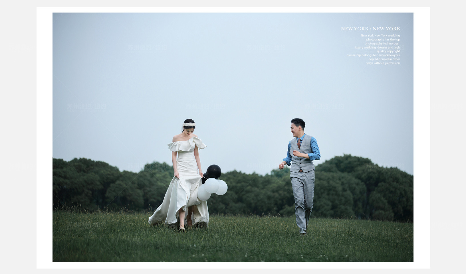Mr.俞 & Ms.裘(纽约纽约最新客照)婚纱摄影照