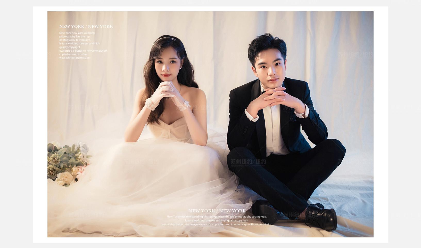 Mr.卢 & Ms.赵(纽约纽约最新客照)婚纱摄影照