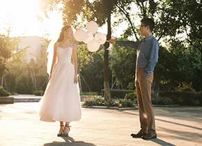 Mr.吴 & Ms.吴(纽约纽约最新客照)婚纱摄影照