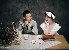 Mr.赵 & Ms.钱(纽约纽约最新客照)婚纱摄影照