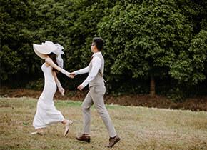 Mr.谭 & Ms.吴(纽约纽约最新客照)婚纱摄影照