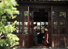 Mr.吴 & Ms.肖(纽约纽约最新客照)婚纱摄影照