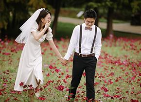 Mr.朱 & Ms.姚(纽约纽约最新客照)婚纱摄影照