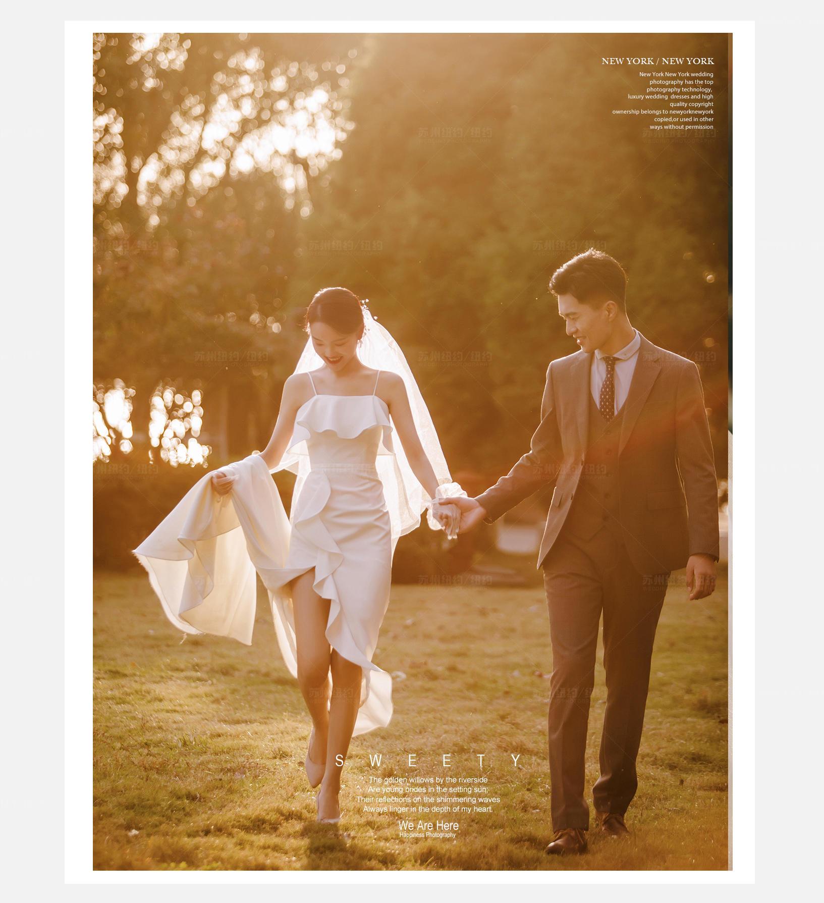 Mr.张 & Ms.闻(纽约纽约最新客照)婚纱摄影照