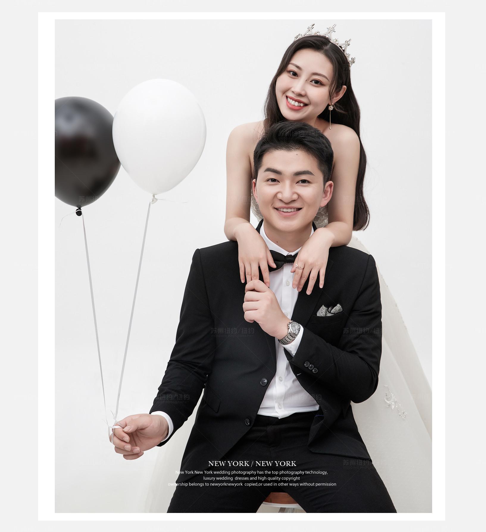 Mr.周 & Ms.赵(纽约纽约真实客照)婚纱摄影照