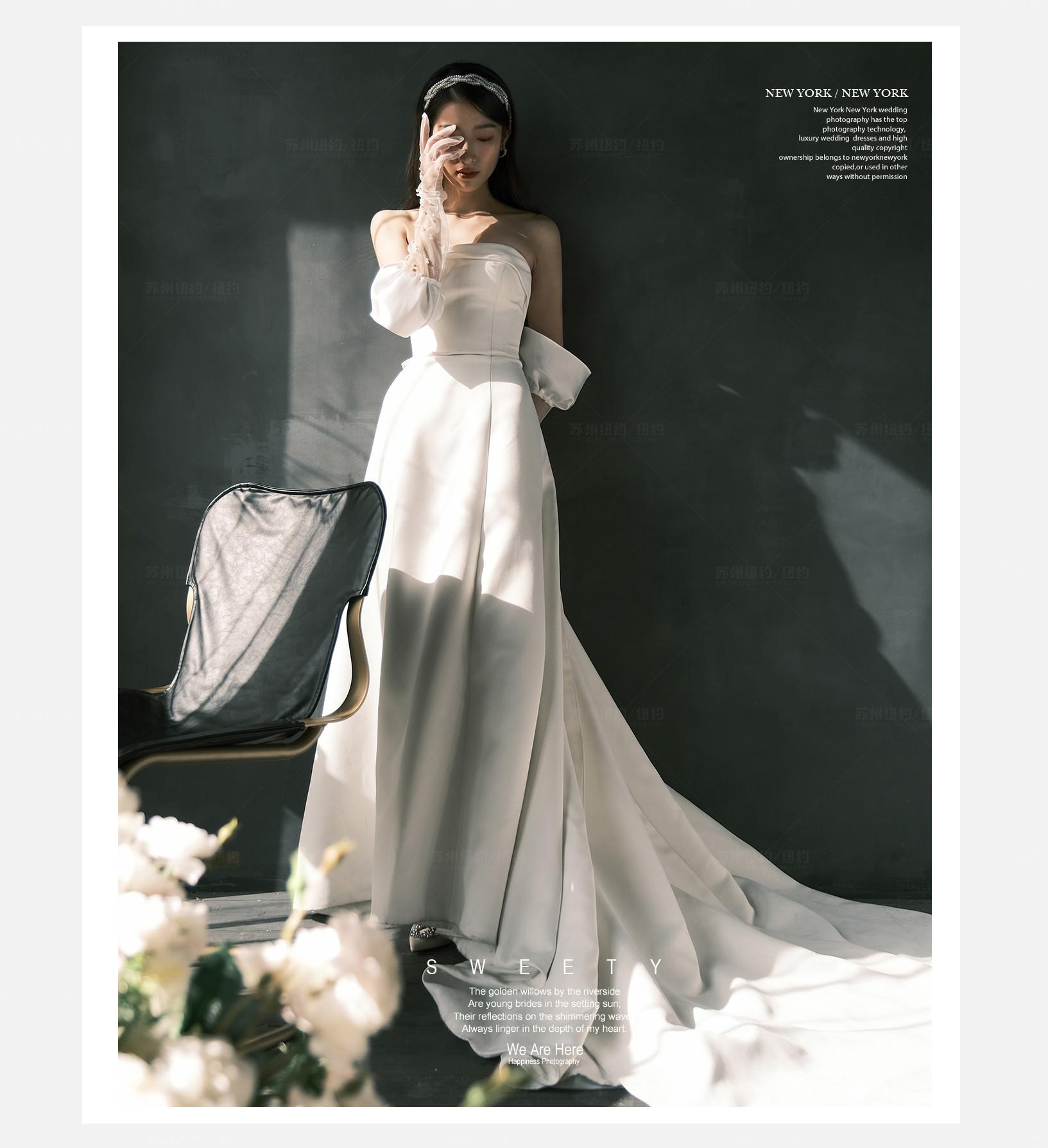 Mr.张 & Ms.陈(纽约纽约真实客照)婚纱摄影照