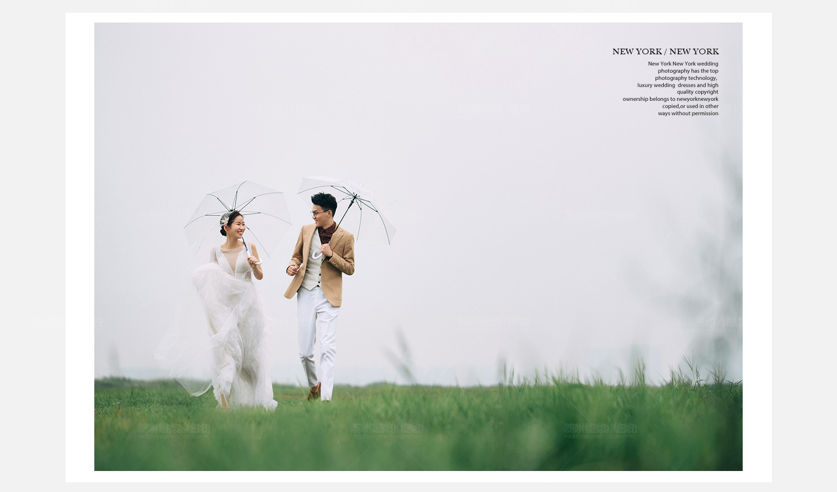 Mr.钱 & Ms.钱(纽约纽约真实客照)婚纱摄影照