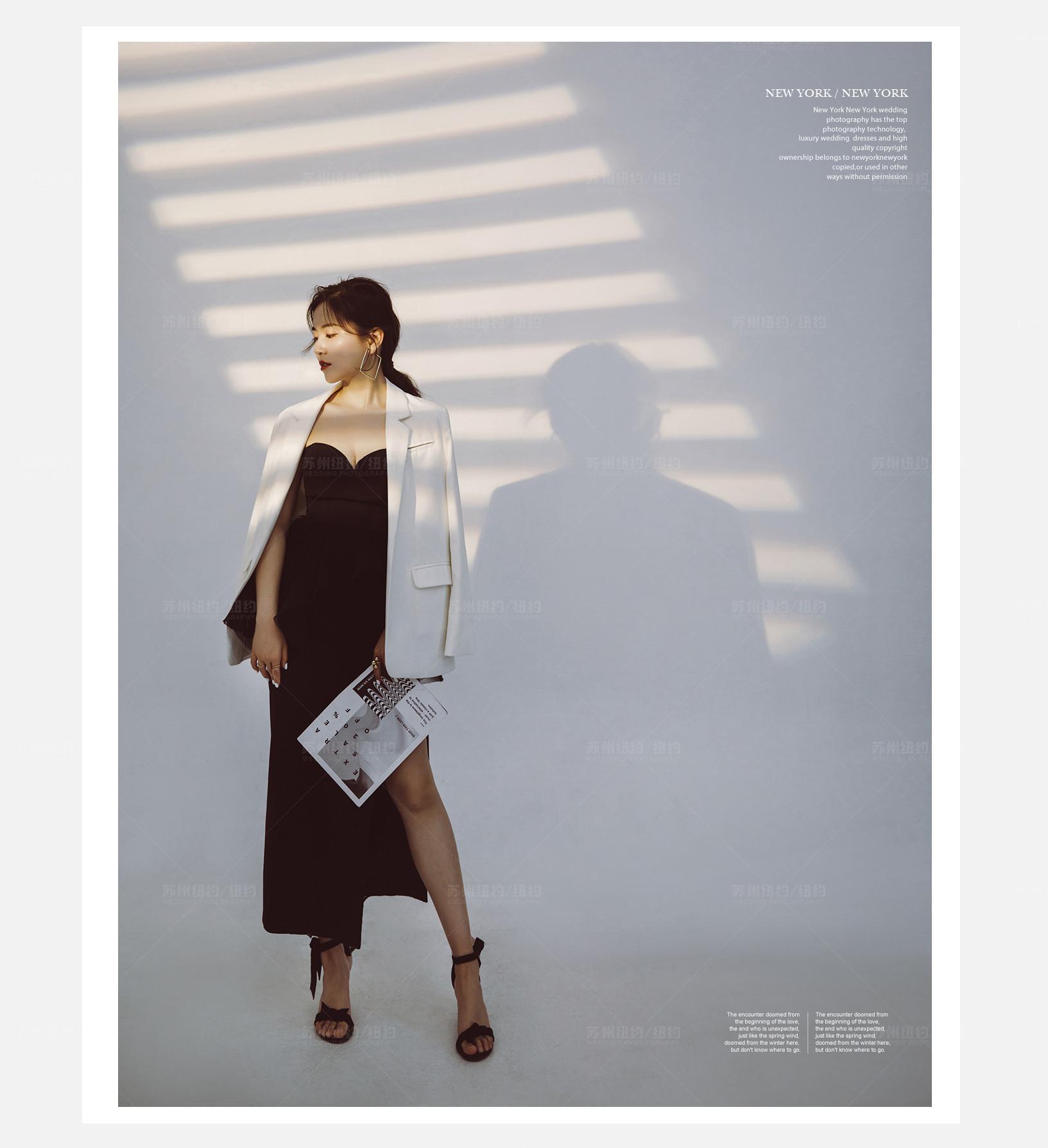 Mr.谢 & Ms.钱(纽约纽约最新客照)婚纱摄影照