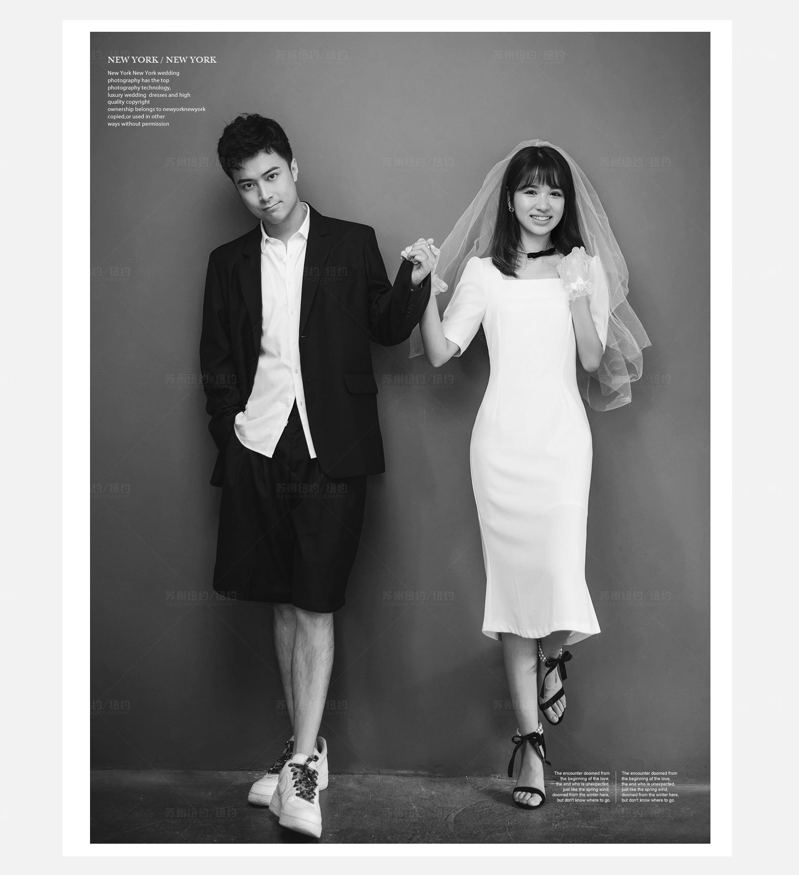 Mr.归 & Ms.沈(纽约纽约最新客照)婚纱摄影照
