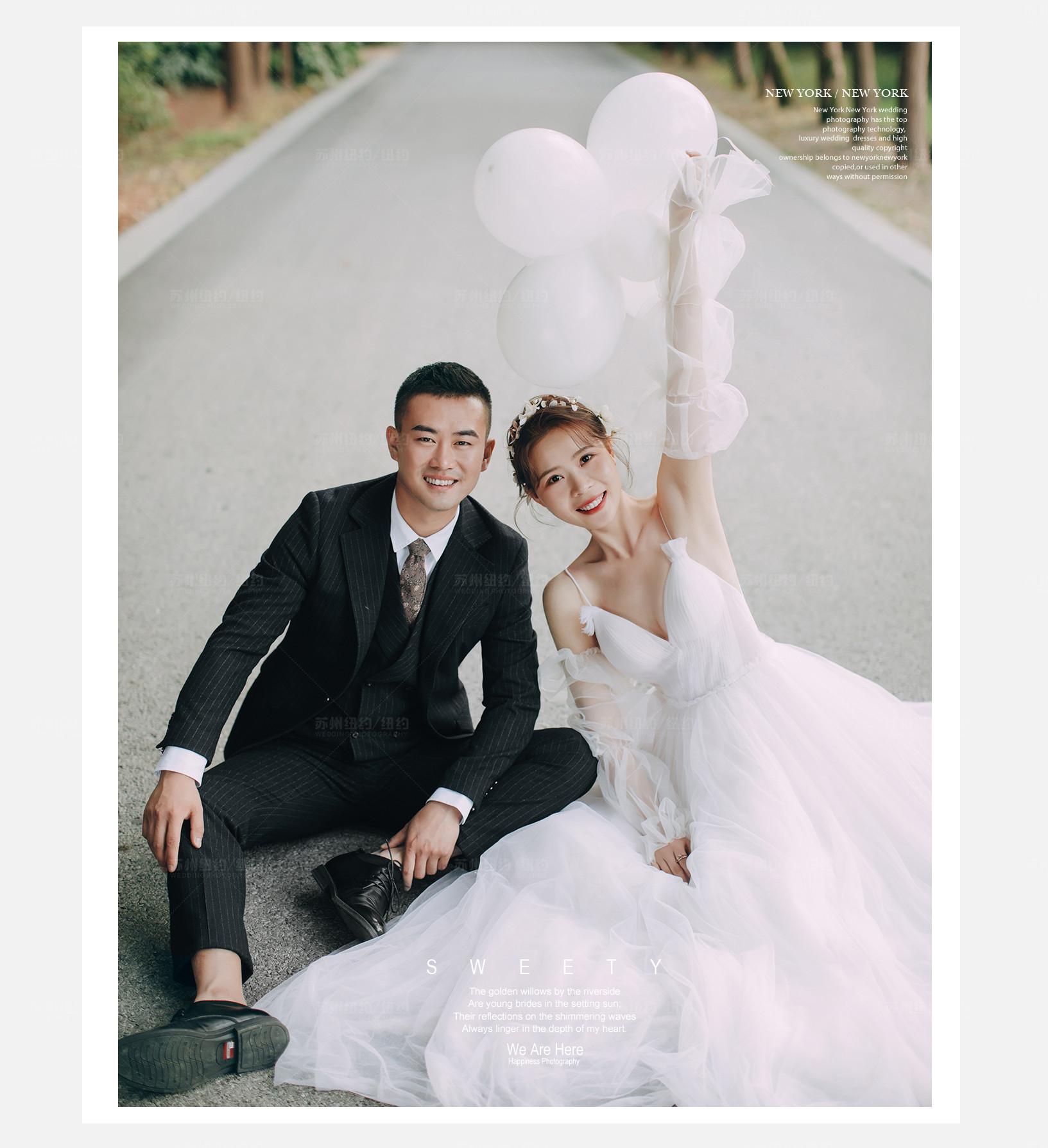 Mr.闫 & Ms.秦(纽约纽约最新客照)婚纱摄影照