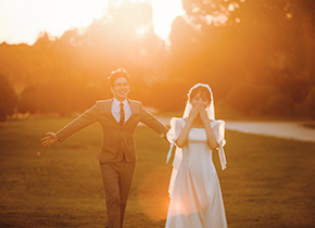 Mr.姚 & Ms.刘(纽约纽约最新客照)婚纱摄影照
