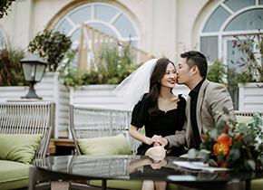 Mr.赵 & Ms.渠(纽约纽约最新客照)婚纱摄影照