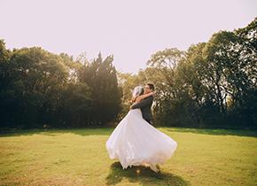 Mr.朱 & Ms.陆(纽约纽约最新客照)婚纱摄影照