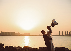 Mr.葛 & Ms.张(纽约纽约最新客照)婚纱摄影照