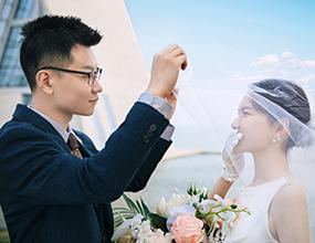 Mr.赵 & Ms.刘(纽约纽约最新客照)婚纱摄影照
