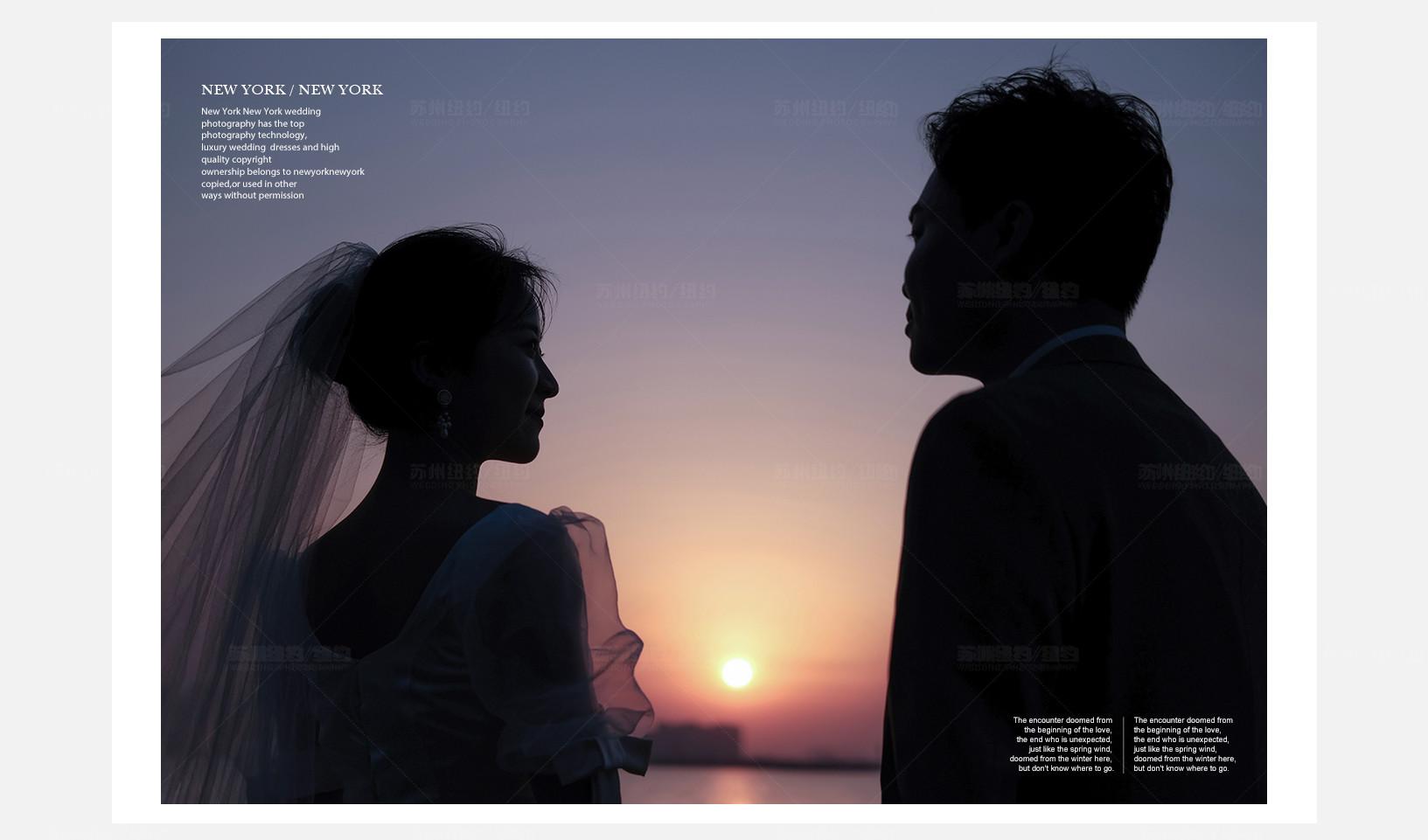 Mr.徐 & Ms.孙(纽约纽约最新客照)婚纱摄影照