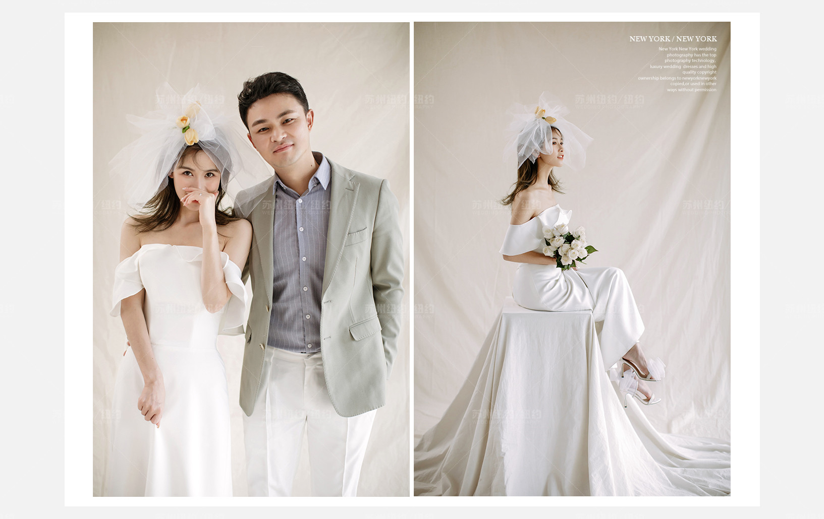 Mr.张 & Ms.张(纽约纽约最新客照)婚纱摄影照