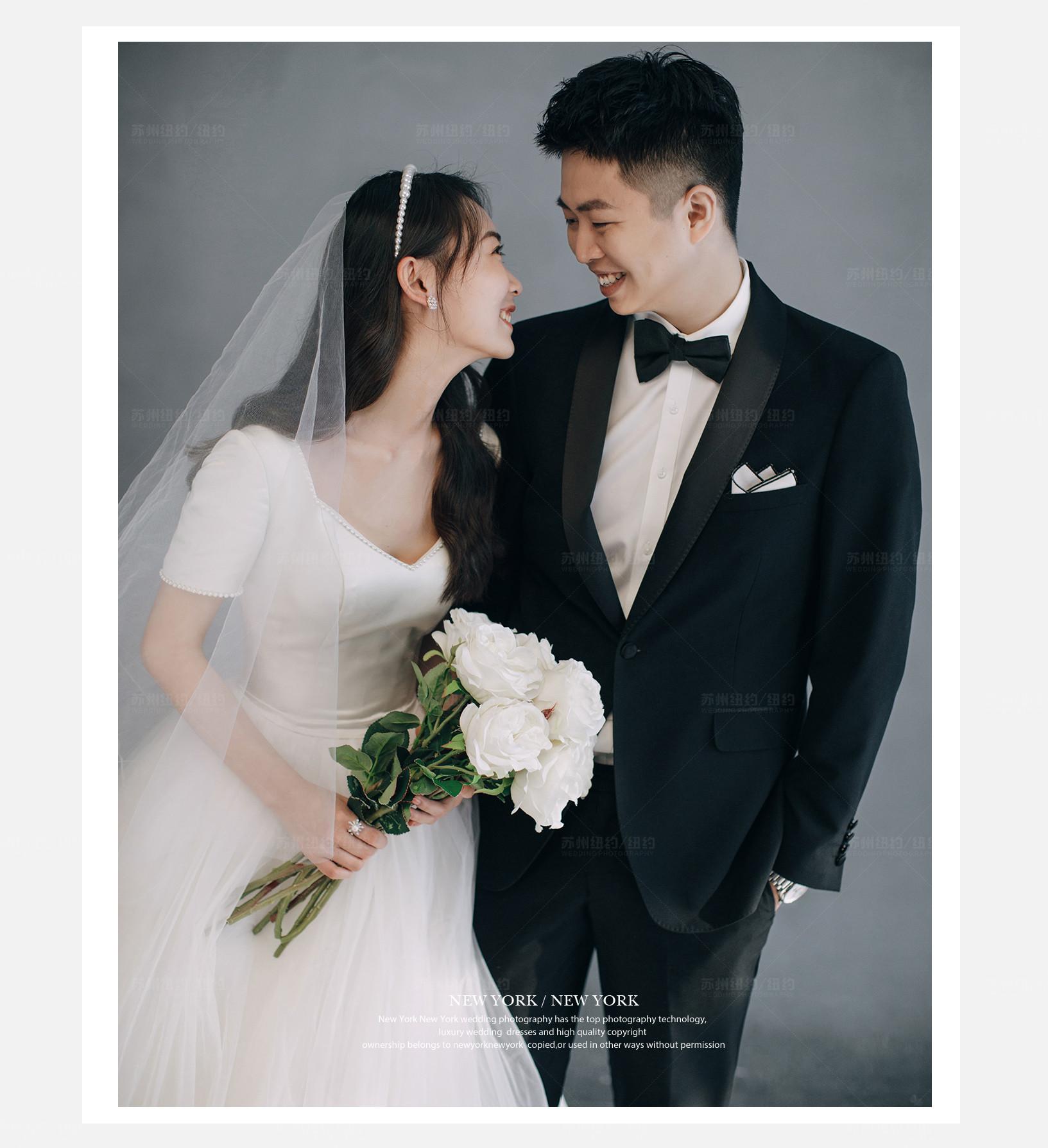 Mr.王 & Ms.陆(纽约纽约最新客照)婚纱摄影照