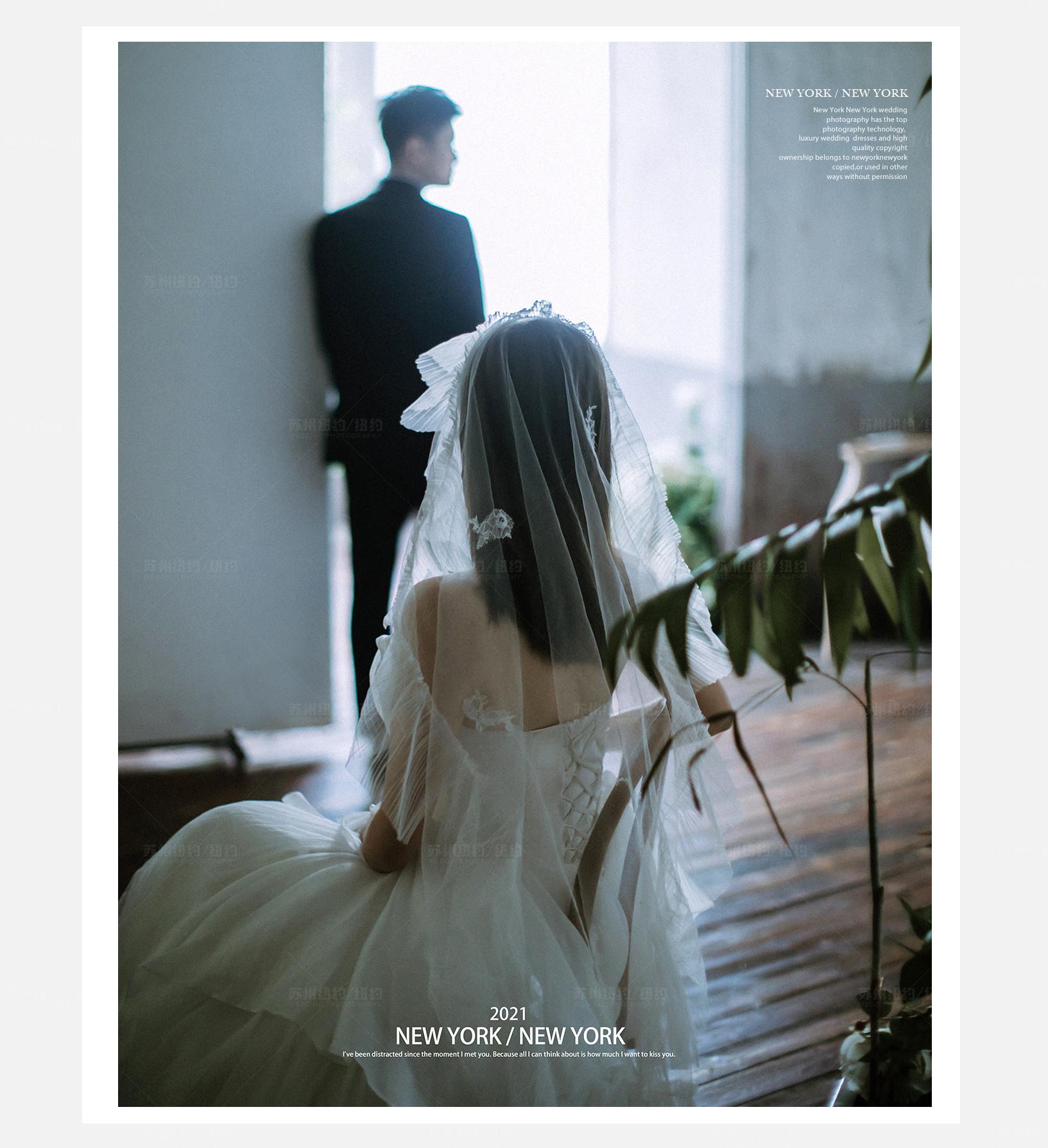 Mr.金 & Ms.马(纽约纽约最新客照)婚纱摄影照