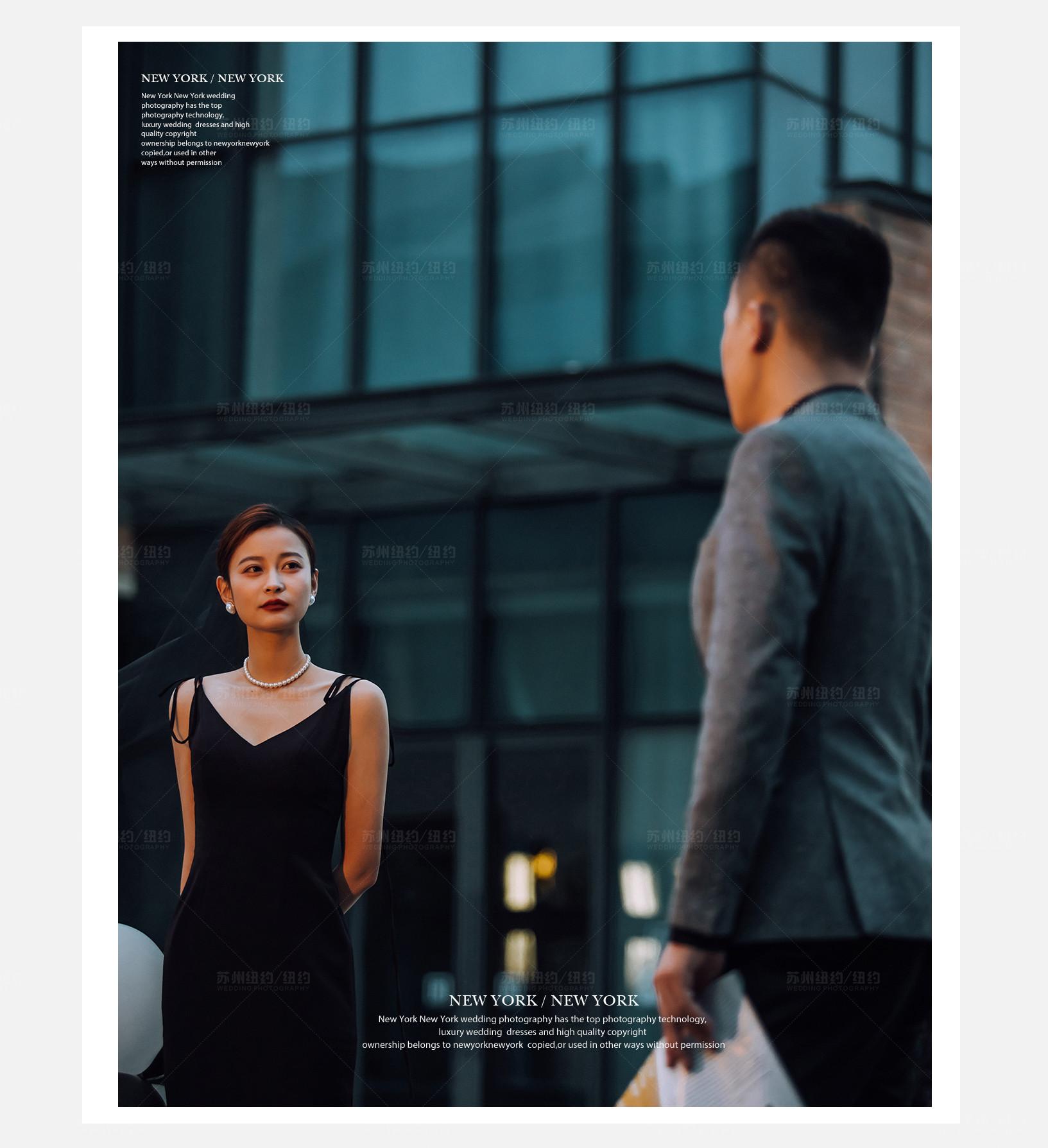 Mr.陈 & Ms.沈(纽约纽约最新客照)婚纱摄影照