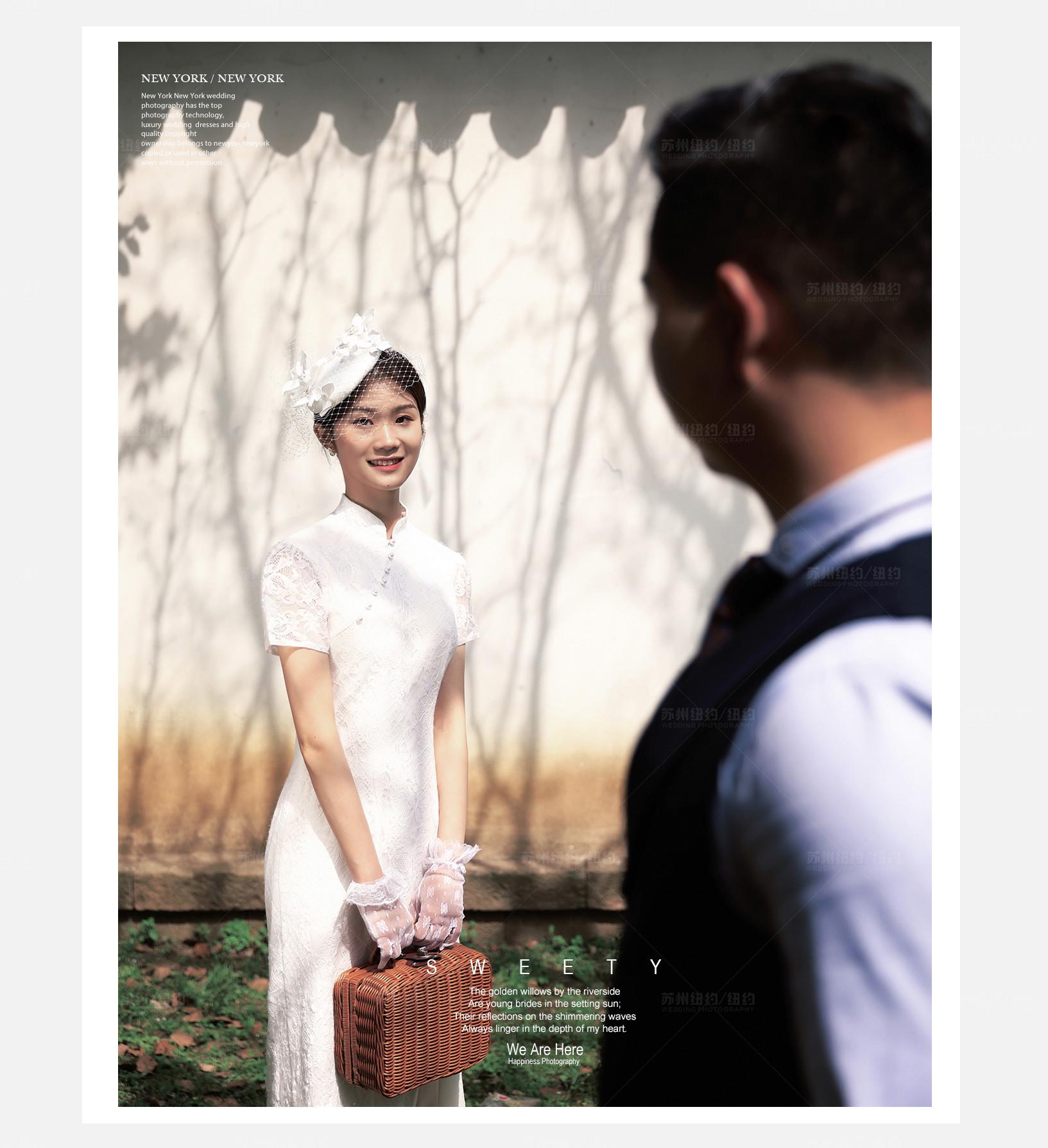 Mr.赵 & Ms.张(纽约纽约最新客照)婚纱摄影照