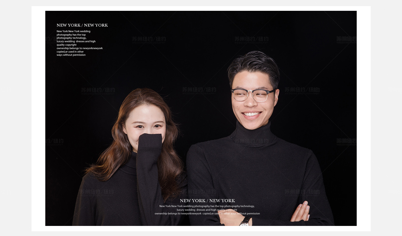 Mr.周 & Ms.沈(纽约纽约最新客照)婚纱摄影照