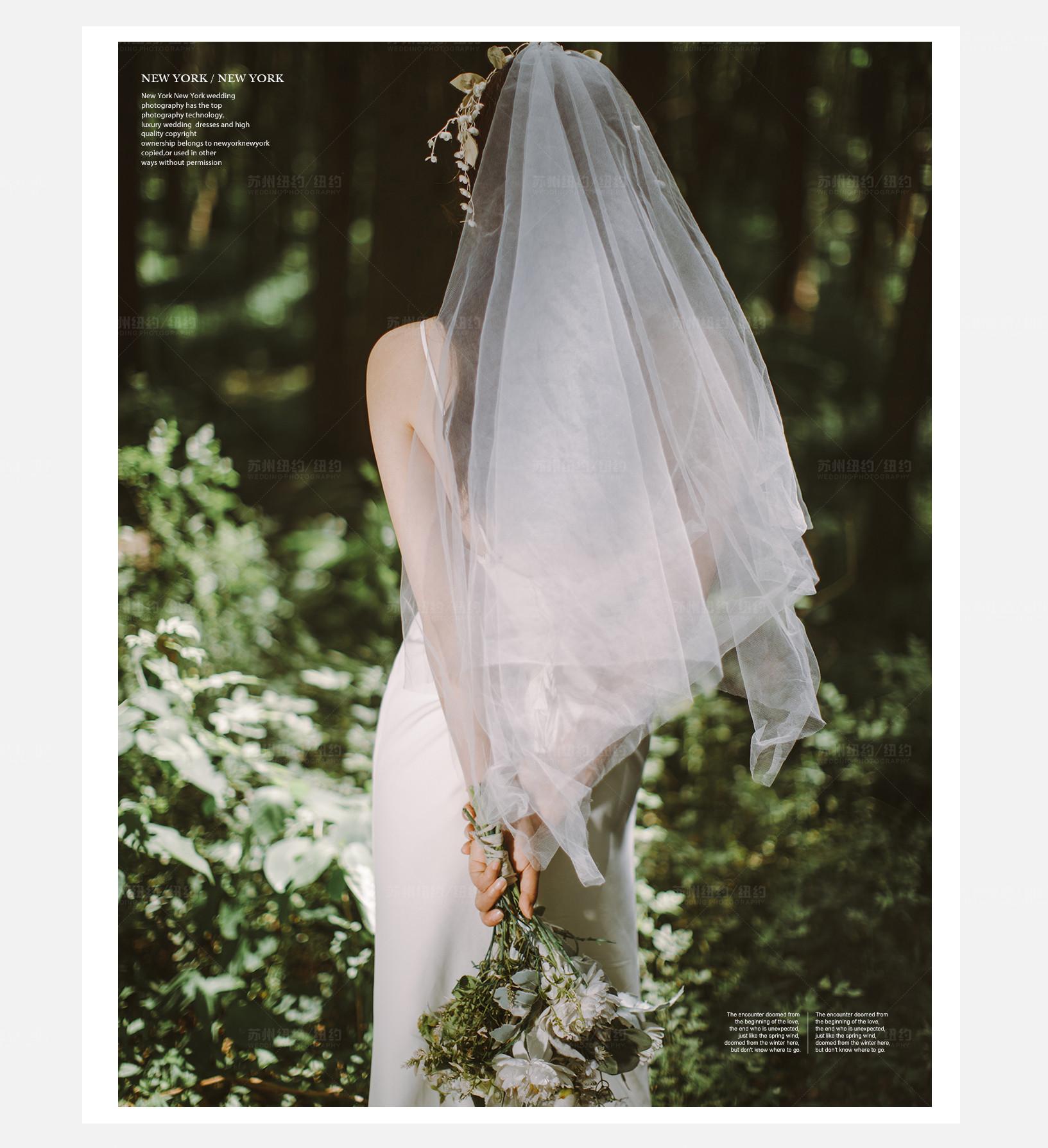 Mr.高 & Ms.鲜(纽约纽约最新客照)婚纱摄影照