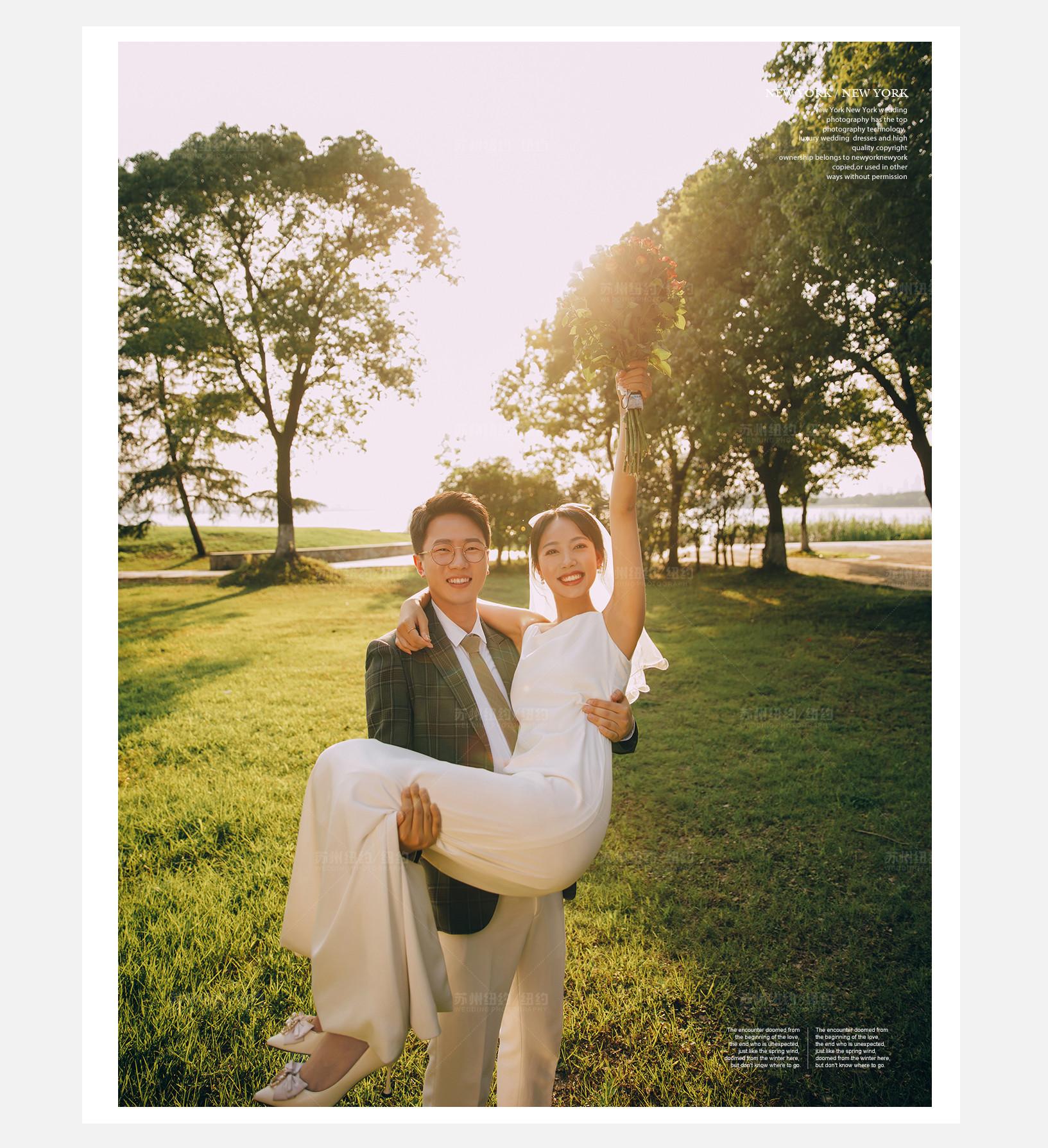 Mr.栾 & Ms.张(纽约纽约最新客照)婚纱摄影照