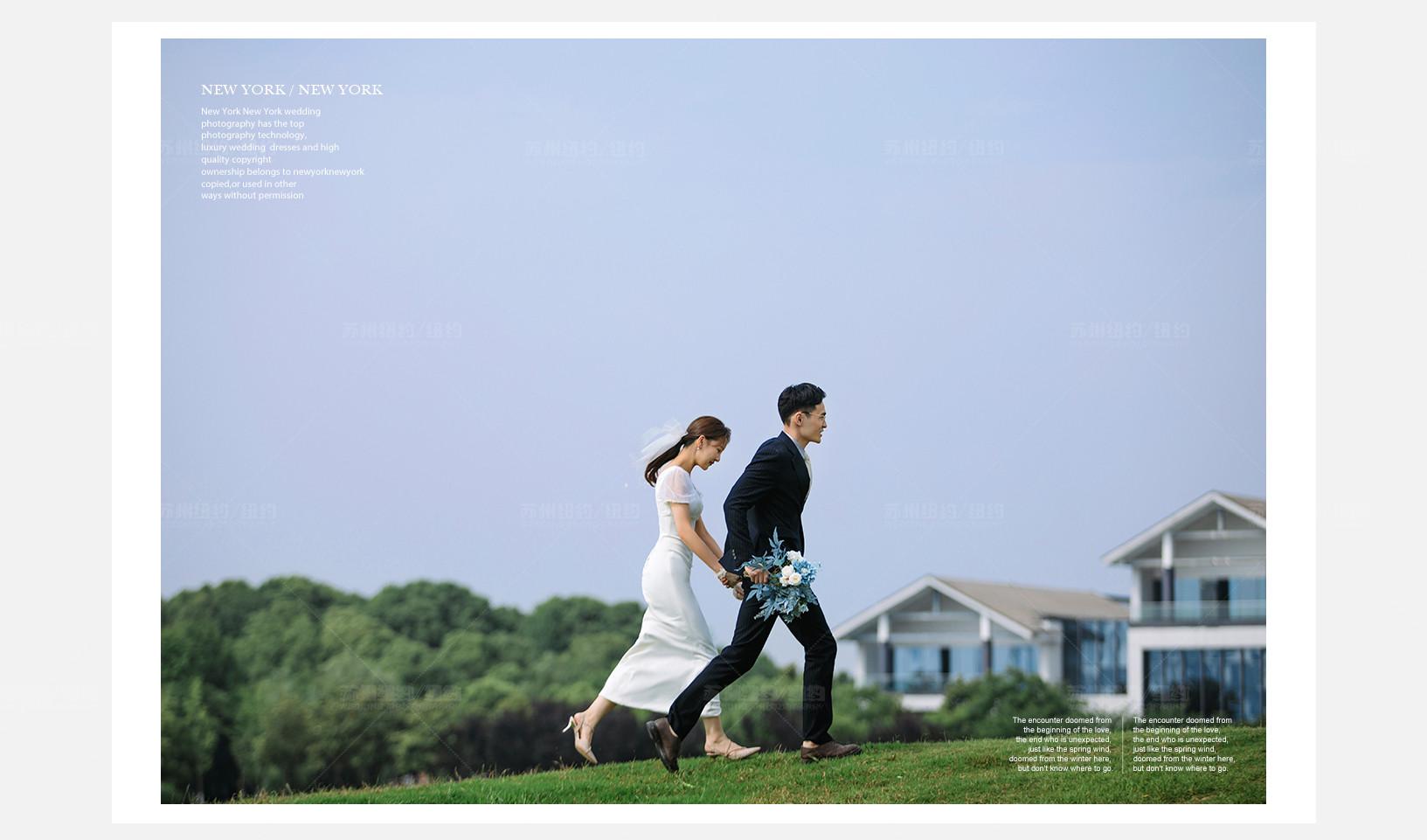 Mr.沈 & Ms.顾(纽约纽约最新客照)婚纱摄影照