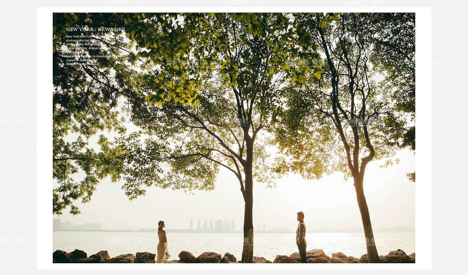 Mr.甄 & Ms.罗(纽约纽约最新客照)婚纱摄影照