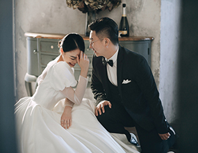 Mr.惠 & Ms.童(纽约纽约最新客照)婚纱摄影照