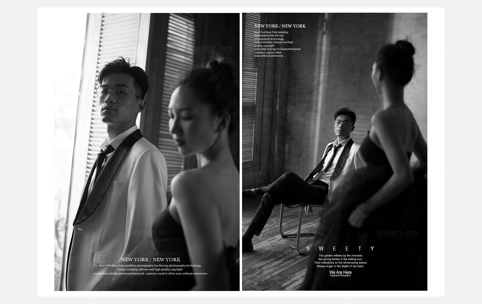 Mr.周 & Ms.黄(纽约纽约最新客照)婚纱摄影照