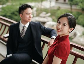 Mr.潘 & Ms.吴(纽约纽约最新客照)婚纱摄影照