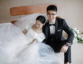 Mr.刘 & Ms.陈(纽约纽约最新客照)婚纱摄影照